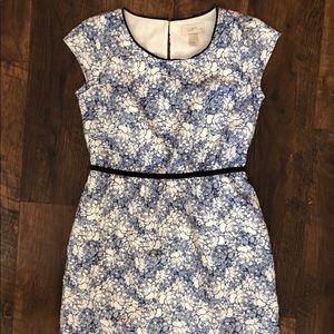 Loft Floral Sleeveless Short Dress